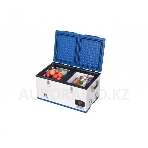 Автохолодильник компрессорный двухзонный CoolRide, 75 л