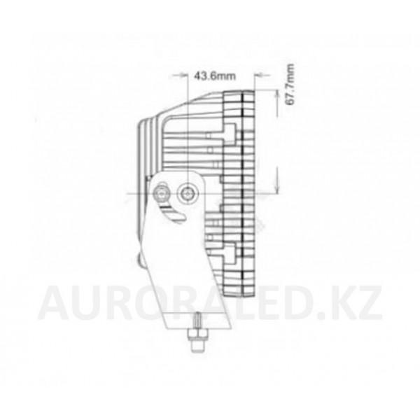 Фонарь дополнительного света AURORA ALO-L-6-P7E7D1